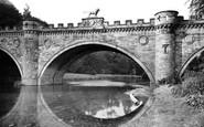 Alnwick, The Lion Bridge c.1950