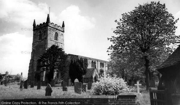 Alrewas, All Saints Church c.1965