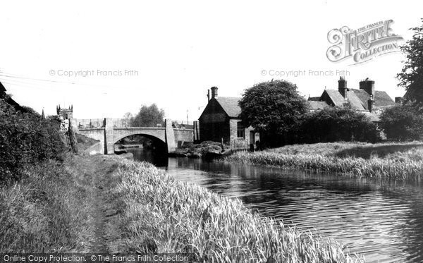 Alrewas, The Canal c.1960