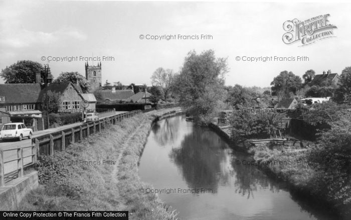 Alrewas, The Trent And Mersey Canal c.1955