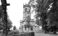 Alsager, Christ Church c.1955