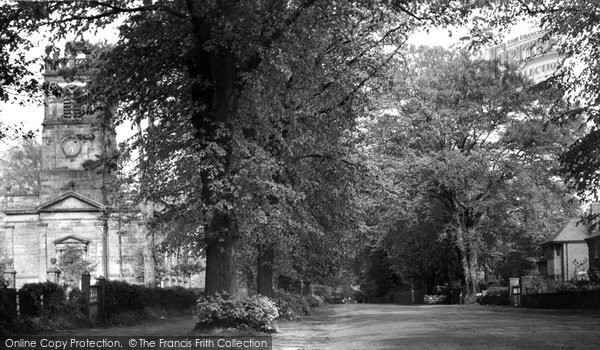 Alsager, Church Road c.1960