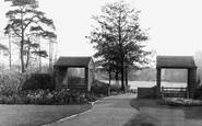 Alsager, Coronation Gardens c.1960