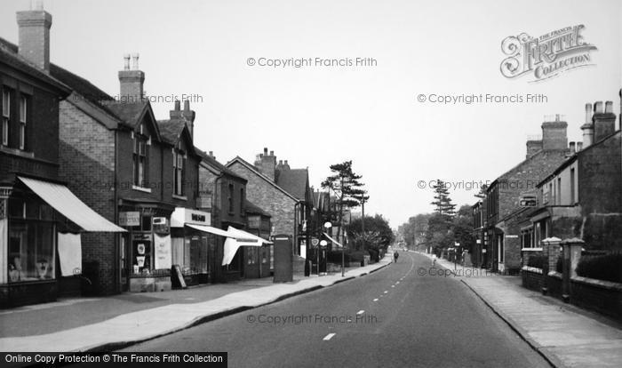 Alsager, Crewe Road c.1965