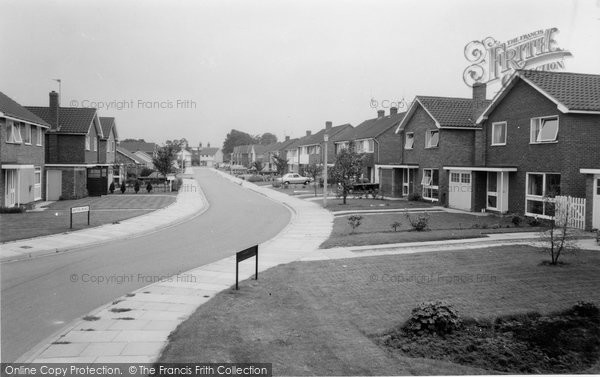 Photo of Alsager, Eaton Road c1965