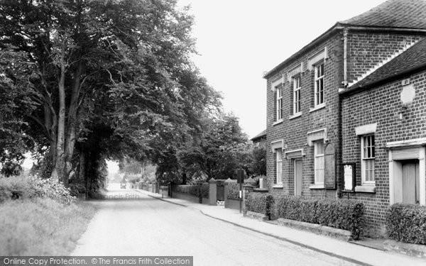 Alsager, Hassall Road c.1955