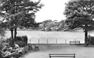 Alsager, The Mere c.1955