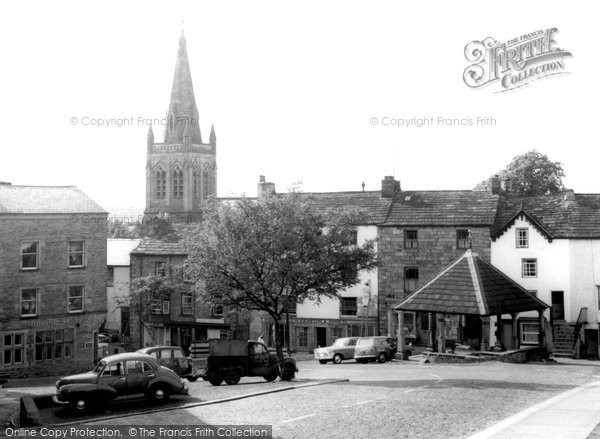 Alston, Market Cross c.1960