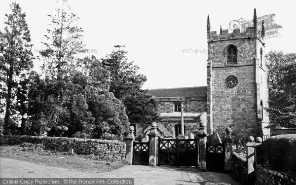 Alstonefield, St Peter's Church c.1955