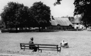 Alton, A Toddler At The Butts c.1955