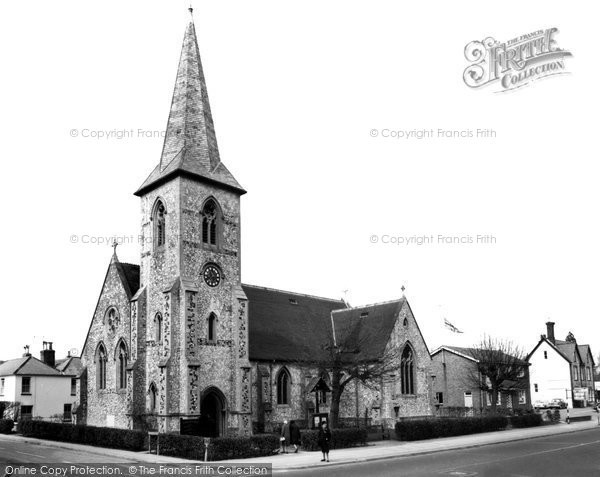 Alton, All Saints Church c.1955