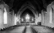 Alton, All Saints Church Interior  1897