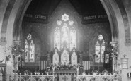 Alton, All Saints Church, Nave And Chancel 1897