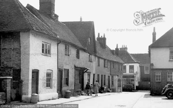 Alton, Church Street c.1955