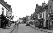 Alton, Crown Hill c.1955