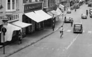 Alton, High Street Traffic c.1955