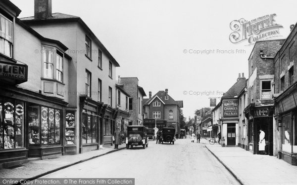 Alton, Market Street 1928