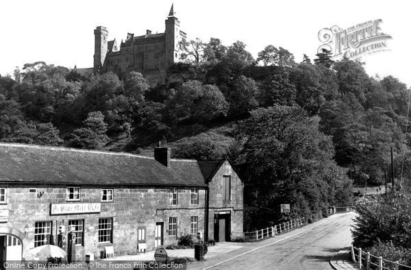 Photo of Alton, Mill Cafe and Castle c1955