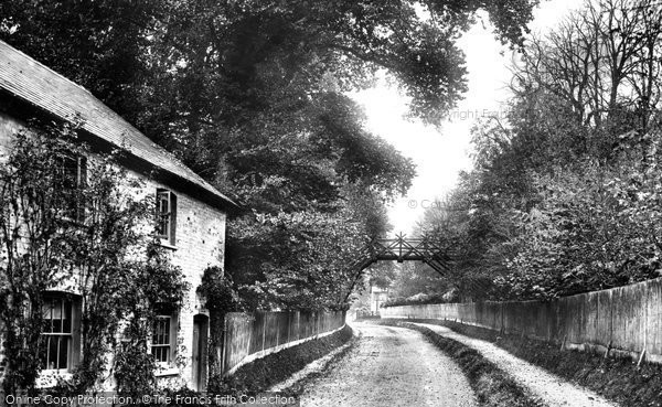Alton, Rustic Bridge At Ashdell 1897