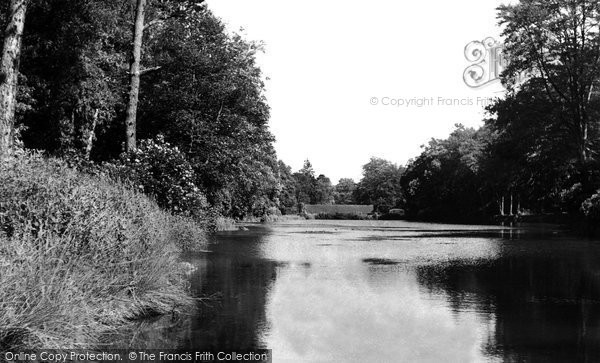 Alton, The Fishponds, Dimmensdale c.1955