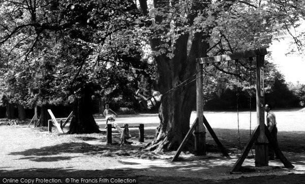 Alton, The Playground c.1955