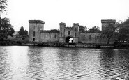 Alton Towers, Lake And Hall c.1955