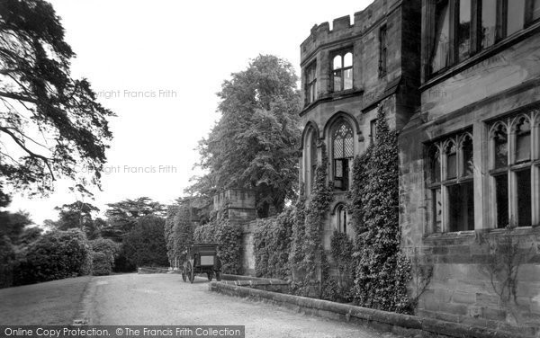 Alton Towers, Part Of The Mansion c.1955