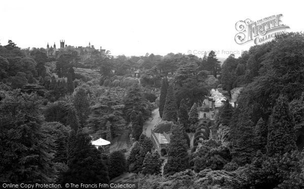 Alton Towers, The Gardens From Chinese Temple 1952