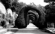 Alton Towers, Yew Arches c.1955