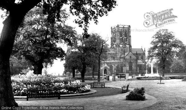 Altrincham, Garden Of Remembrance c.1955