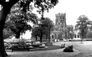 Altrincham, Garden of Remembrance c1955