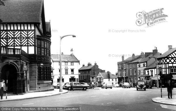 Altrincham, Old Market Place c.1955
