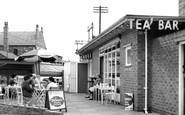 Altrincham, Tea Bar c1960