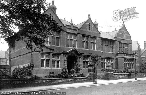 Altrincham, The Town Hall 1903