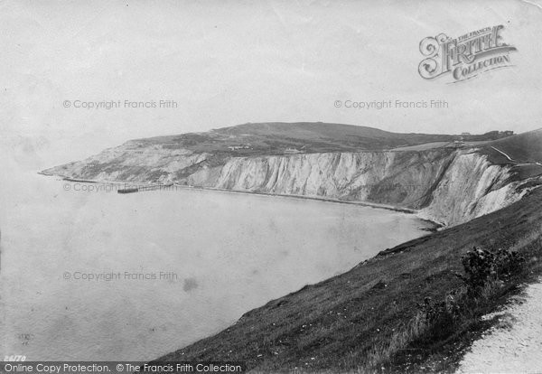 Alum Bay, 1890