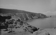 Alum Bay, And The Needles 1923