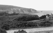 Alum Bay, Hotel And Needles c.1883