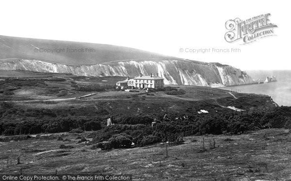 Alum Bay, Hotel c.1875