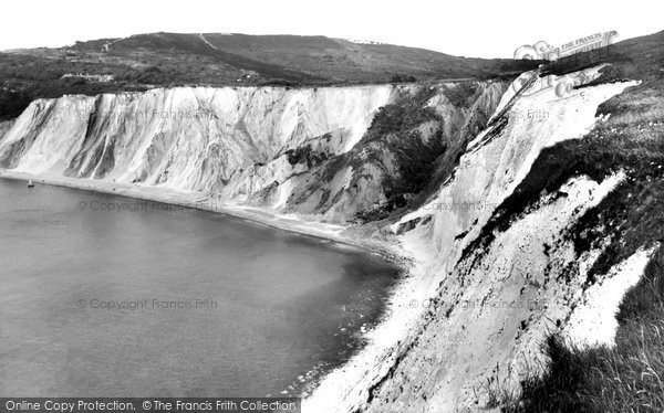 Alum Bay, The Bay c.1960