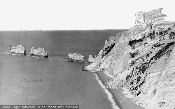 Alum Bay, The Needles c.1875