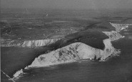 Alum Bay, The Needles From The Air c.1940