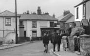 Alverstoke, A Walk In The Village c.1955