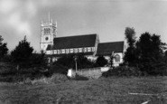 Alverstoke, Church c.1955