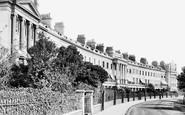 Alverstoke, The Crescent 1898