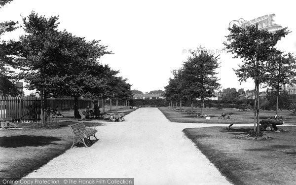 Alverstoke, The Park 1898