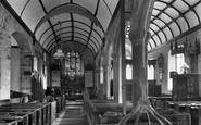 Alwington, Church interior 1907