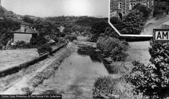 Ambergate, The Canal c.1955
