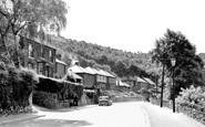 Ambergate, The Village c.1955