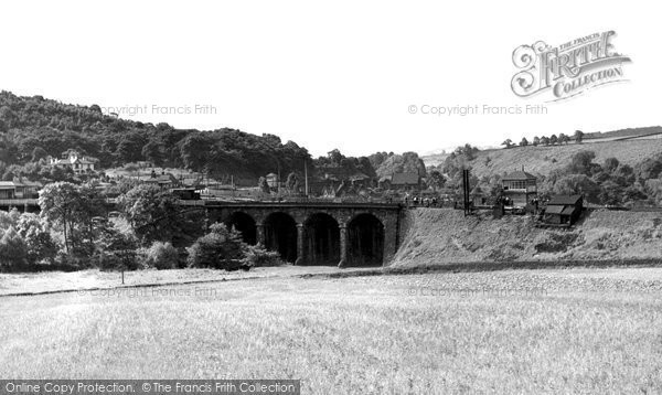 Ambergate, View From Canal Bank c.1955