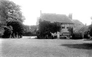 Amberley, Castle Courtyard 1896
